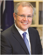 Portrait of the Hon Scott Morrison