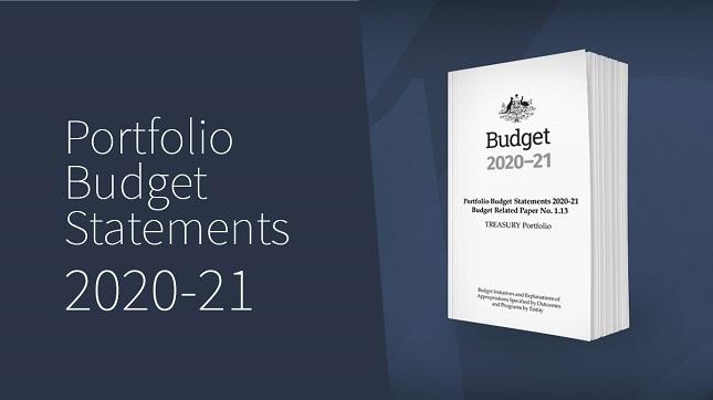 Portfolio Budget Statements 2020-21