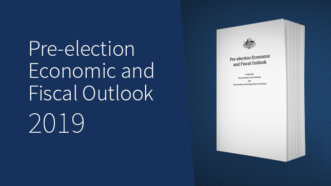 Pre-election Economic and Fiscal Outlook