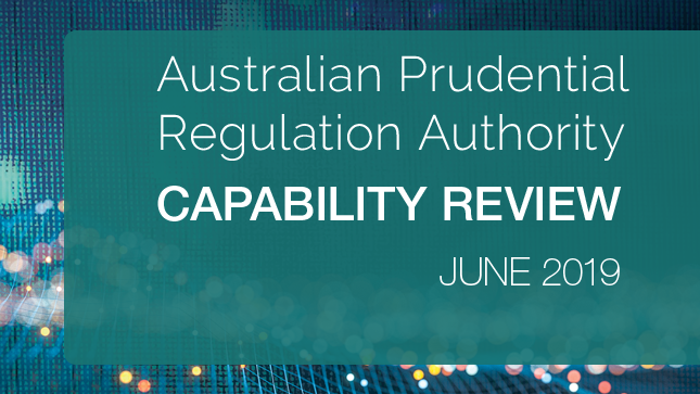 APRA Capability Review Report