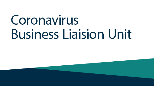 Coronavirus Business Liaison Unit
