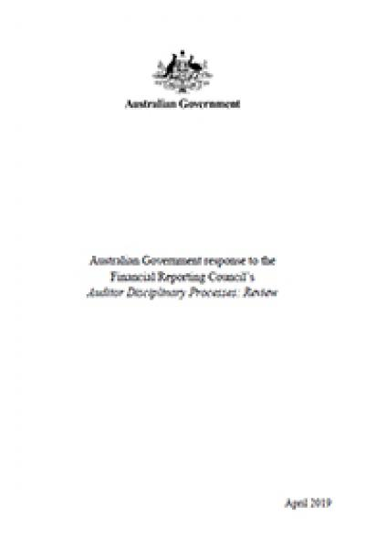 FRC Auditor Disciplinary Processes - cover