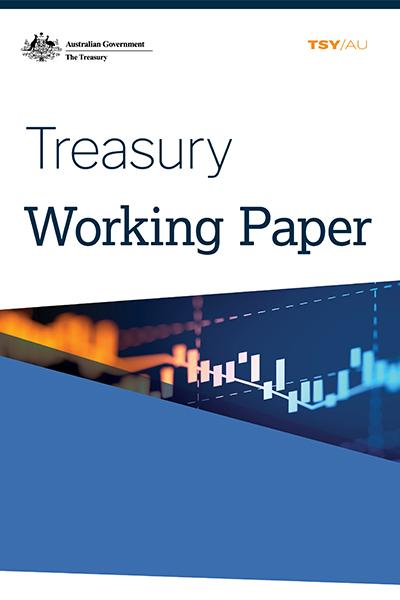 Treasury Working Paper