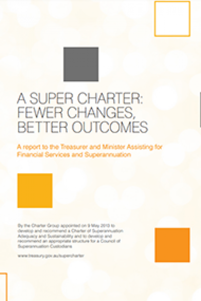 A Super Charter: fewer changes, better outcomes