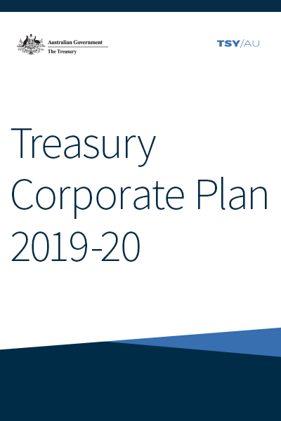 Treasury Corporate Plan 2019-20