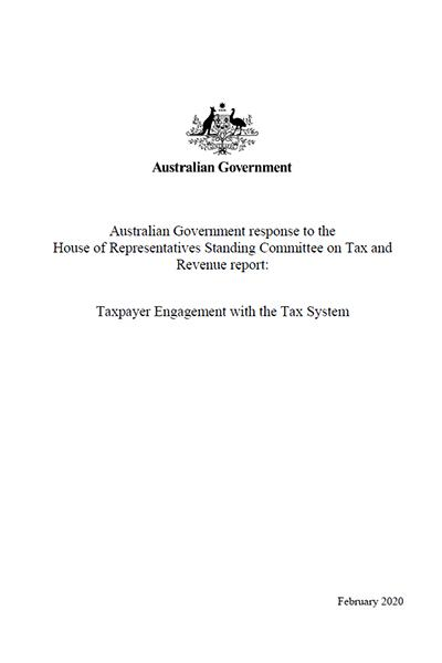 Taxpayer Engagement with the Tax System