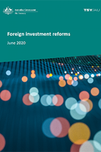 Foreign investment reforms